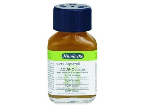 Malmittel Schmincke Aquacollage 60ml verbessert die Haftung