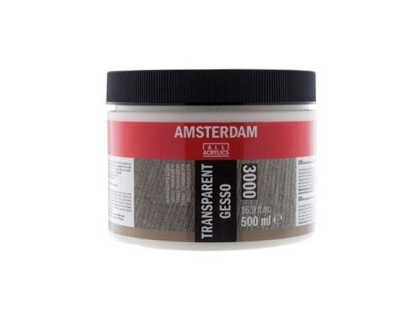 Gesso Primer Talens Amsterdam 000 transparent 500ml