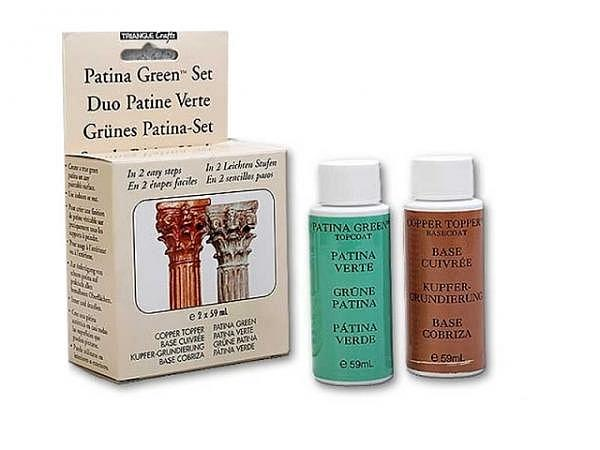 Oxidationsmittel Grüne Patina Starter-Set 2x59ml