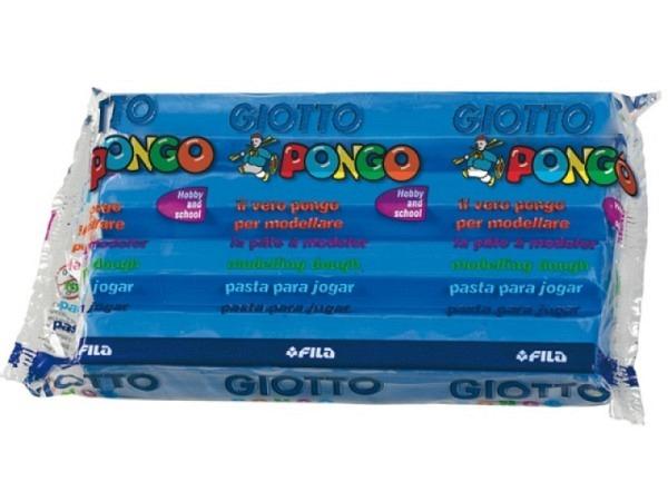Knetmasse Giotto 500g hellblau leichtes Plastilin pflanzlich