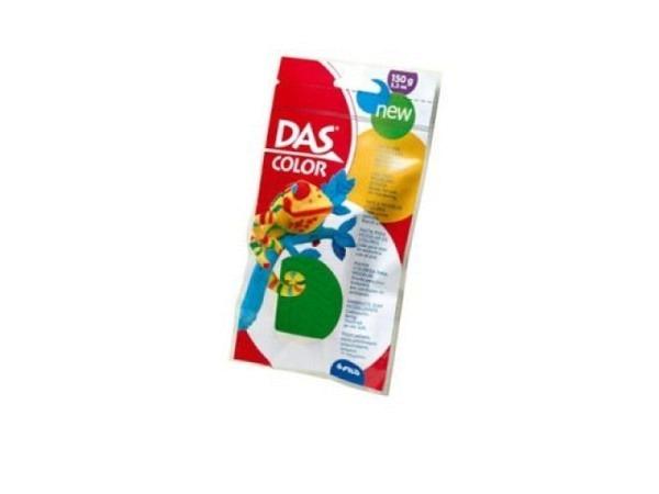 Knetmasse DAS Color grün 150g selbsthärtende Knetmasse