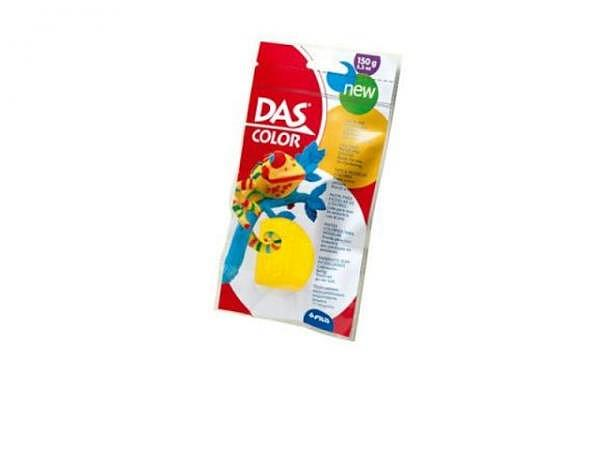 Knetmasse DAS Color gelb 150g selbsthärtende Knetmasse