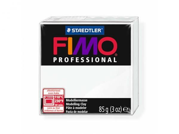 Knetmasse Staedtler Fimo Professional weiss