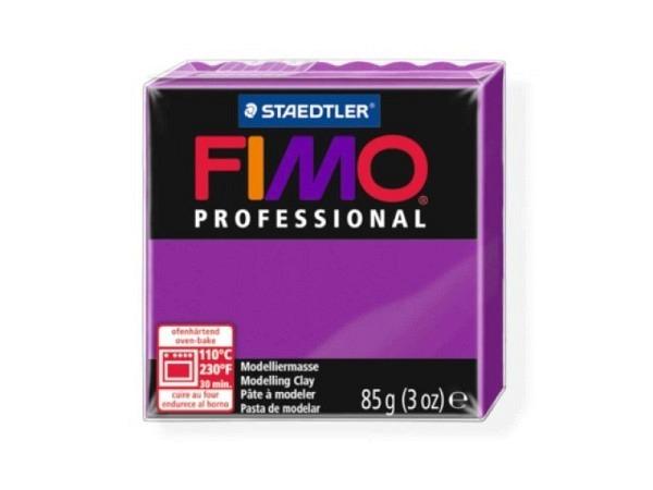 Knetmasse Staedtler Fimo Professional violett