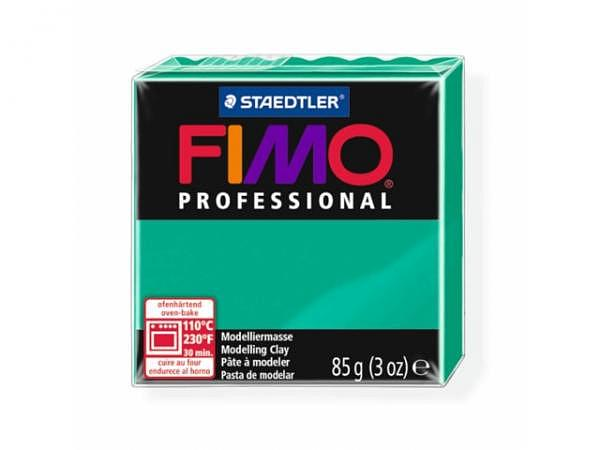 Knetmasse Staedtler Fimo Professional echtgrün