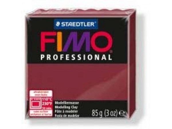 Knetmasse Staedtler Fimo Professional bordeaux