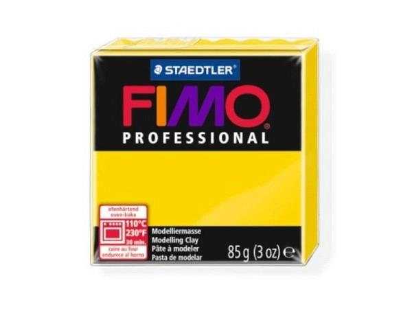 Knetmasse Staedtler Fimo Professional echtgelb