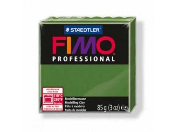 Knetmasse Staedtler Fimo Professional blattgrün