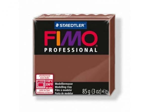 Knetmasse Staedtler Fimo Professional schokolade