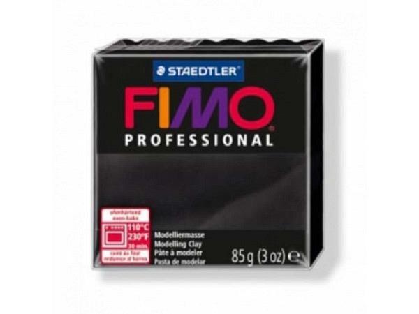 Knetmasse Staedtler Fimo Professional schwarz
