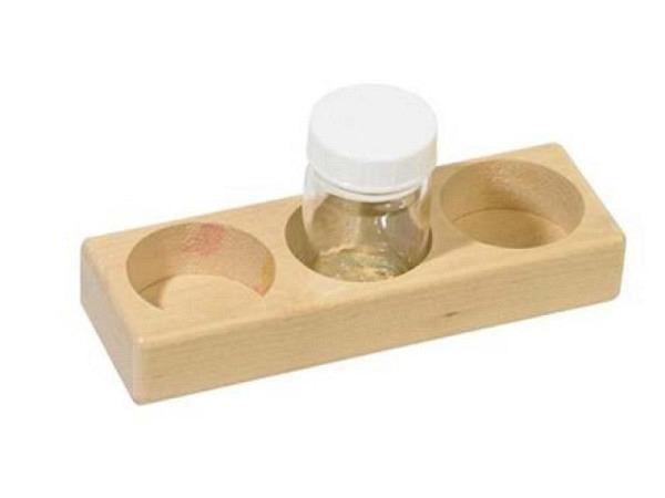 Palettstecker doppelt mit Plastikdeckel, für Hilfsmittel