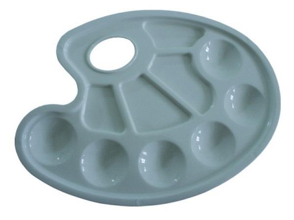 Palette Conda Kunststoff 6 runde Farbvorratabteile 4 Mischf.