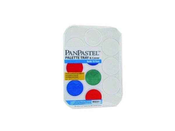 Palette PanPastel 10er Set, aus Kunststoff mit Deckel