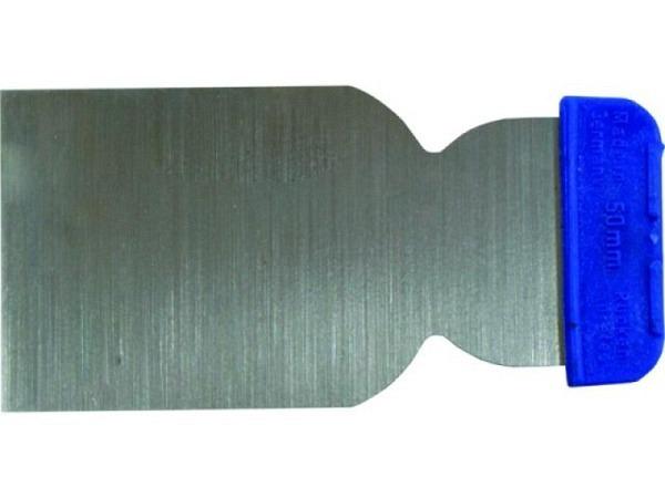 Spachtel breit flexibles Stahlblatt 5cm