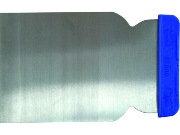 Spachtel breit flexibles Stahlblatt 8cm