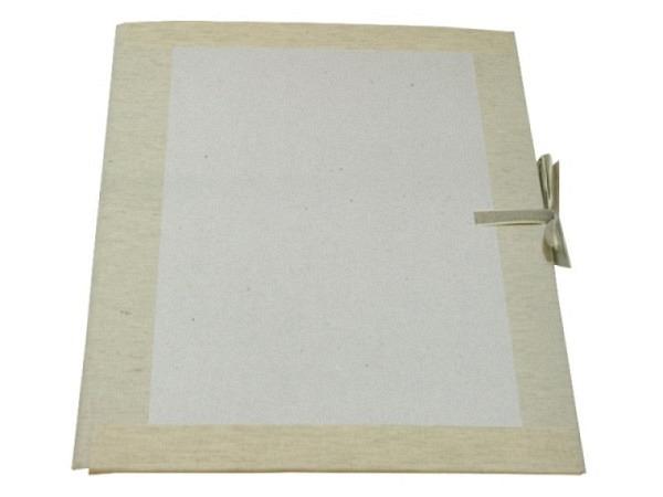 Zeichenmappe Magelan für A3 grauer 2mm dicker Archivkarton