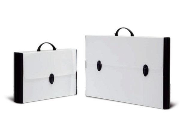 Zeichenkoffer Balmar Hardox Black&White 37x60x5cm