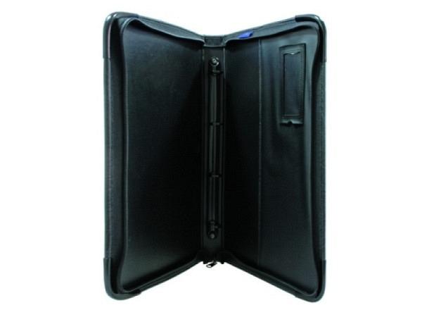 Präsentationsmappe Mapac Quartz A2 46x63,5x3cm Nylon schwarz