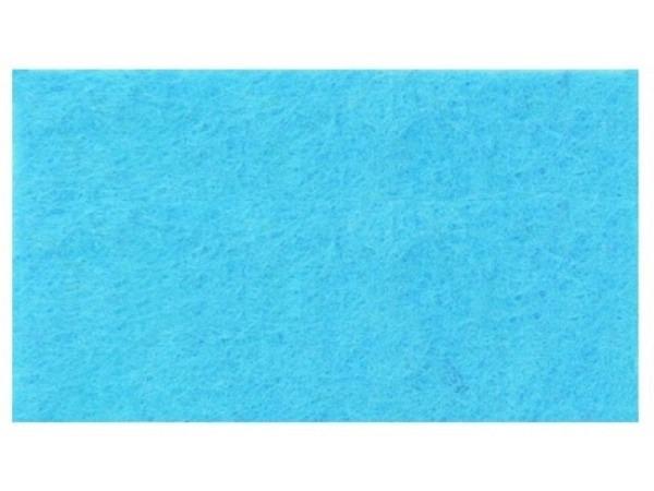 Filz Rico Design 1mm dick 20x30cm hellblau, aus 100% Acryl