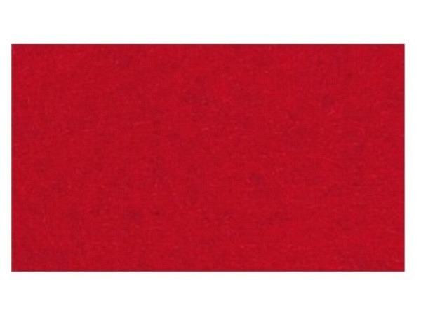 Filz Rico Design 1mm dick 20x30cm rot, aus 100% Acryl