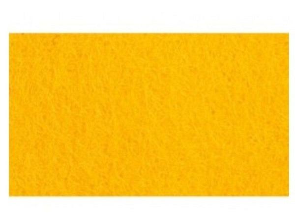 Filz Rico Design 1mm dick 60x90cm gelb, aus 100% Acryl
