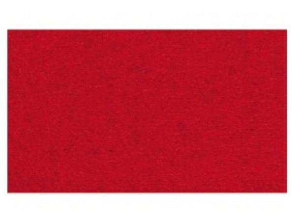 Filz Rico Design 1mm dick 60x90cm rot, aus 100% Acryl
