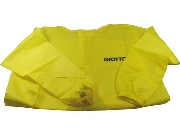 Malschürze Giotto für Kinder gelb, waschbar, verschliessbar