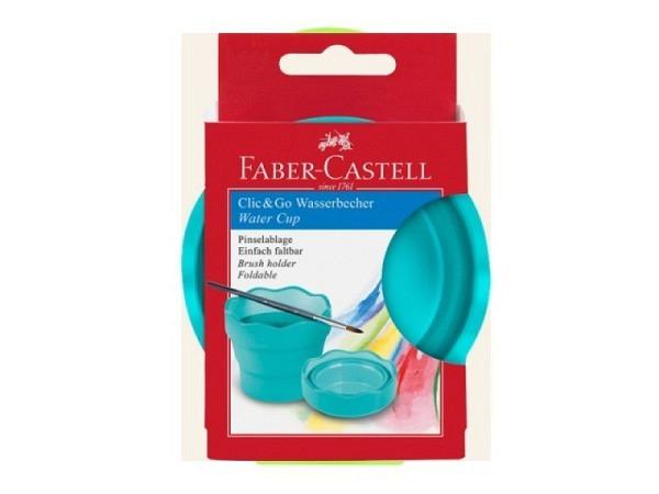 Pinselkrug Porzellan Sortiment aus 6 Teilen mit Vase