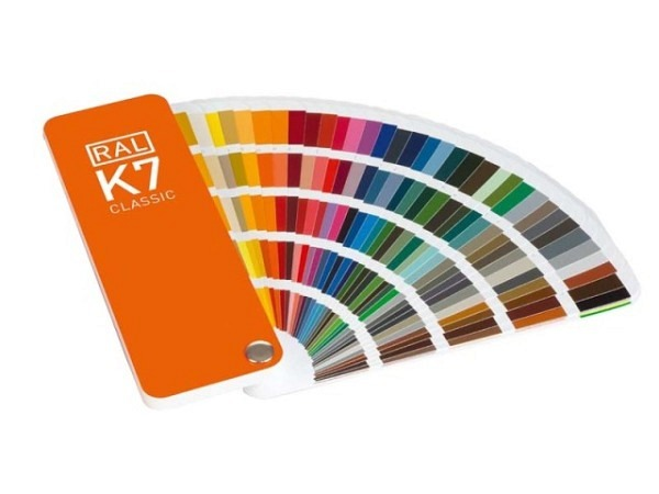 Farbfächer RAL Classic K7 Original 50x150mm