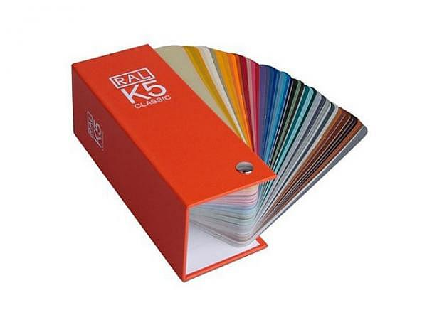 Farbfächer RAL Classic K5 Original 50x150mm
