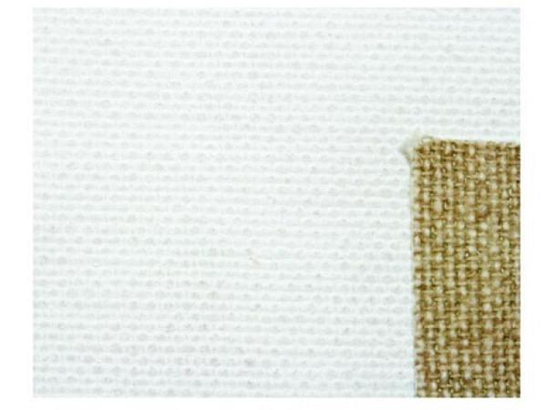 Leinwand L09 Paris Baumwolle roh, weiss 215cm breit