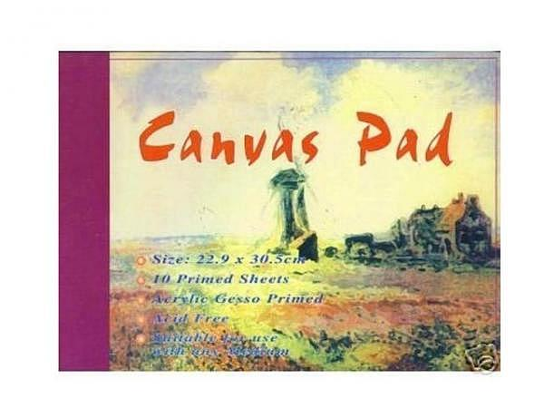 Leinwand Conda Canvas Pad 30,5x40,6cm 10 Bogen