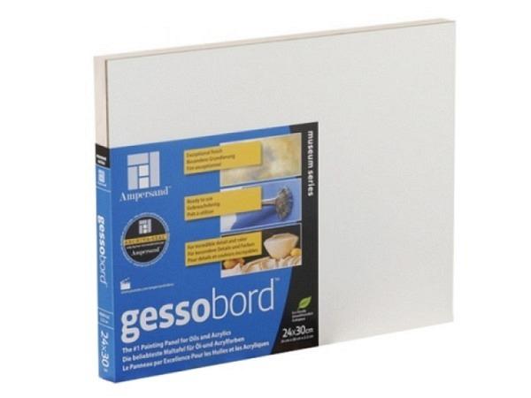 Malgrund Ampersand Gessobord 2,2cm dick 24x30cm