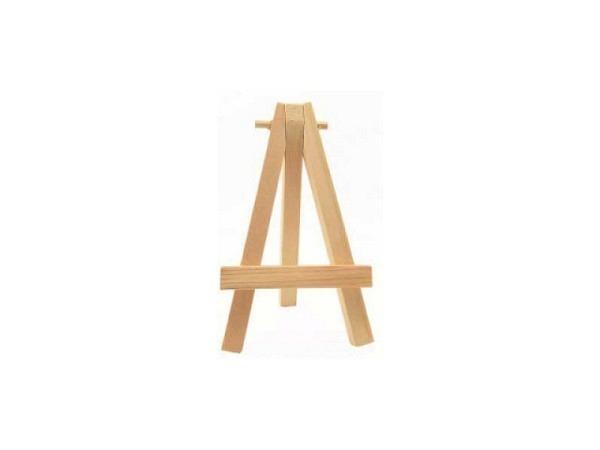 Tischstaffelei Daler-Rowney Mini naturfarben Holz 7cmx12,5cm