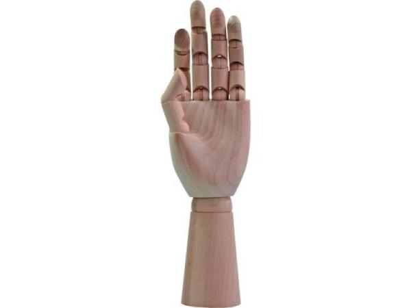 Gliederpuppe Conda Hand links, 20cm hoch