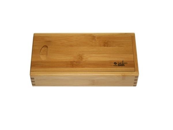 Holzkoffer Conda aus lackiertem Bambusholz
