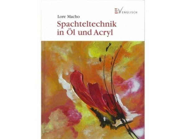 Buch Spachteltechnik in Oel und Akryl