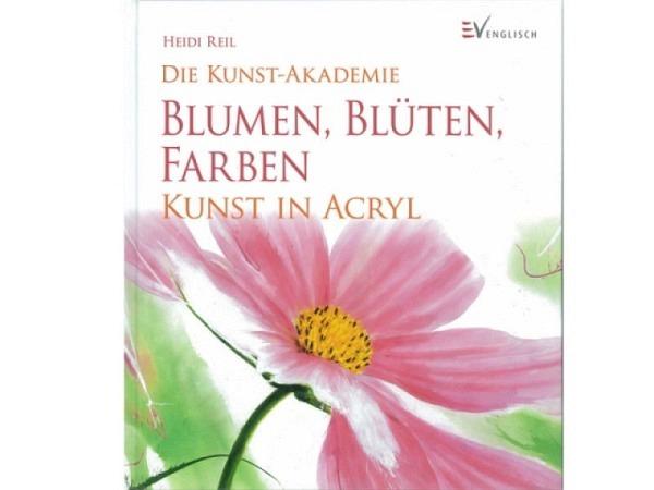 Buch Die Kunst-Akademie, Blumen/Blüten/Farben