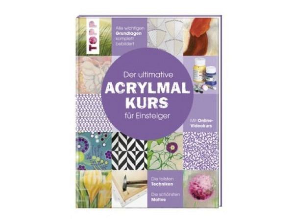 Buch Topp Der ultimative ACRYLMALKURS für Einsteiger