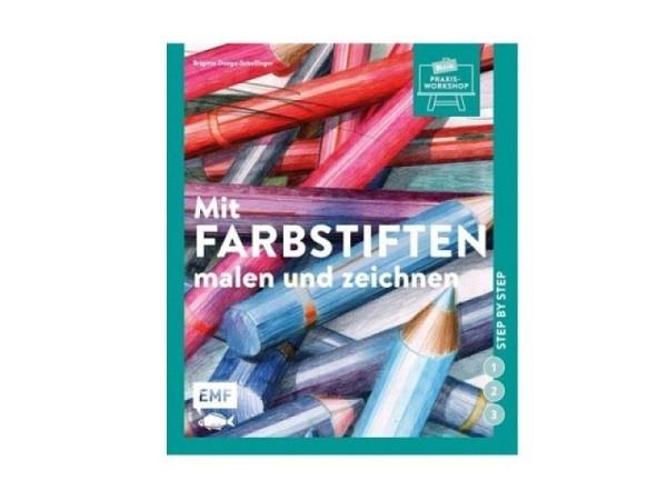 Buch Mit Farbstiften malen und zeichnen