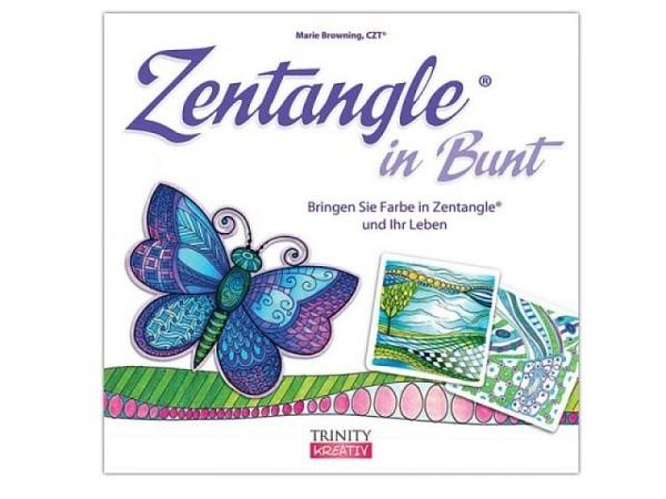 Buch Zentangle in Bunt von Marie Browning