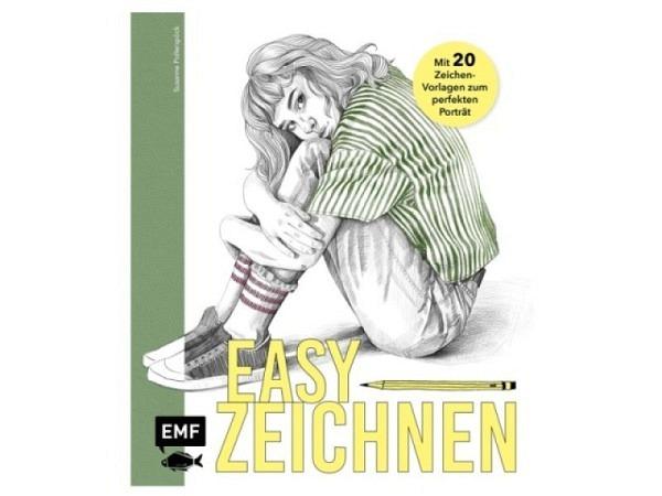 Buch Easy Zeichnen mit Vorlagen zum perfekten Porträt mit Color Effekt