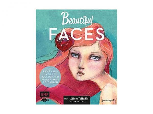 Buch Beautiful Faces: Fantasievolle Gesichter malen und zeichnen