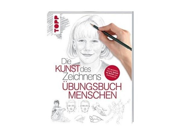 Buch Die Kunst des Zeichnens, Übungsbuch Menschen