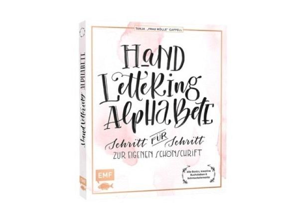 Buch Handlettering Alphabete