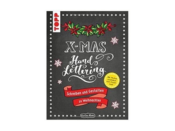 Buch Handlettering X-Mas Schreiben und Gestalten zu Weihnachten