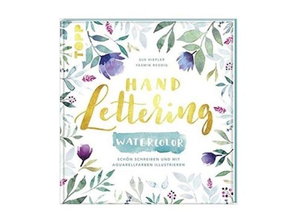 Buch Handlettering Watercolor, von Yasmin Reddig und Susanne Hiepler