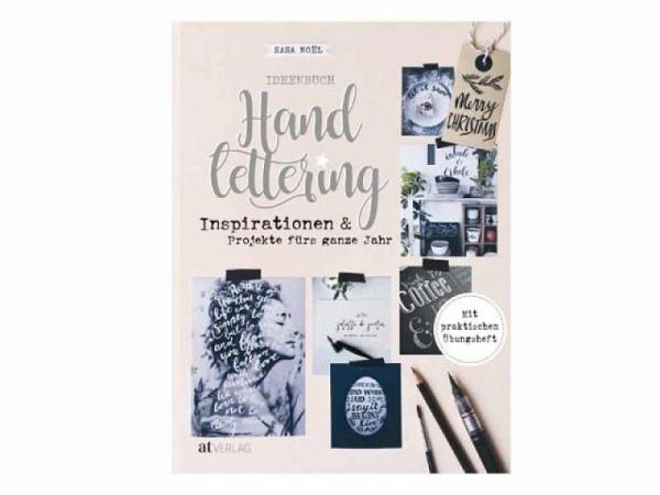 Buch Ideenbuch Handlettering, Inspirationen und Projekte für das gan..