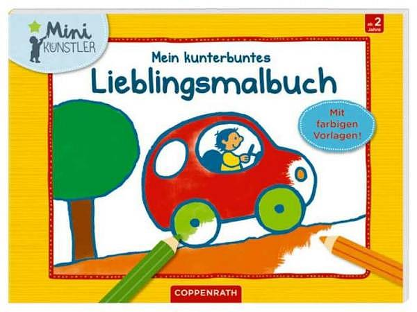 Malbuch Bauernhof-Malbuch 14,8x21cm
