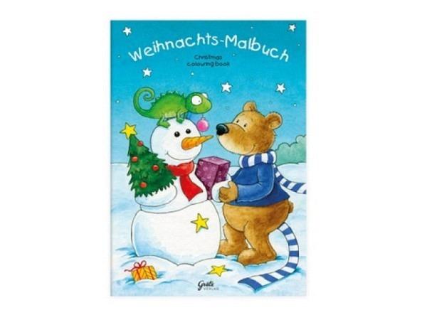 Malbuch Weihnachten 14,8x21cm